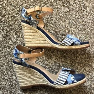 Sperry wedge sandals